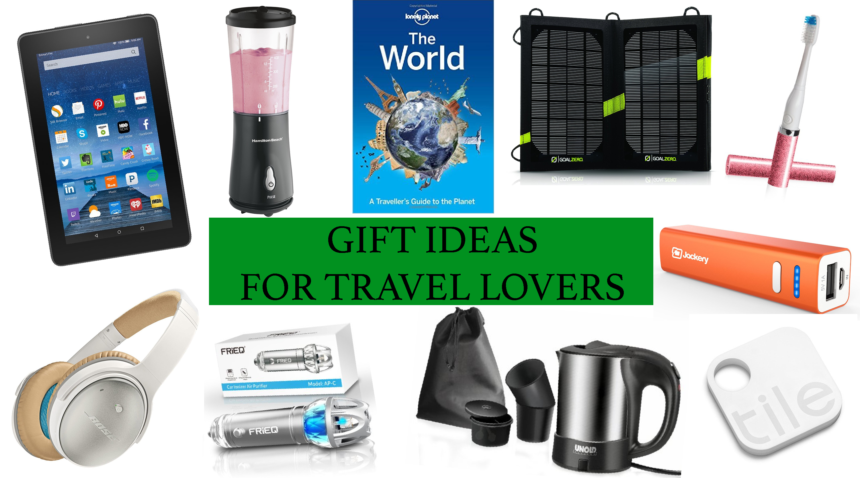 Christmas gift ideas for travel lovers road trips around for Christmas gifts for travelers