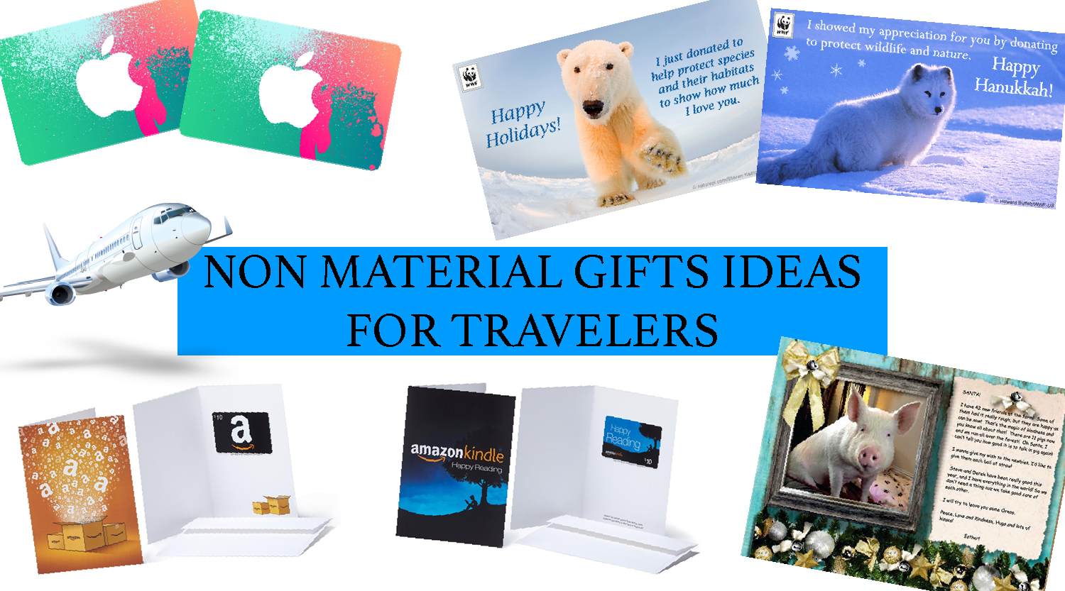 Non material gifts ideas for travelers for Good gifts for a traveler